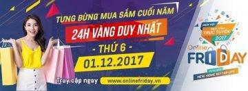 ACCESSTRADE Việt Nam là Đối tác Affiliate duy nhất đồng hành cùng Online Friday 2017