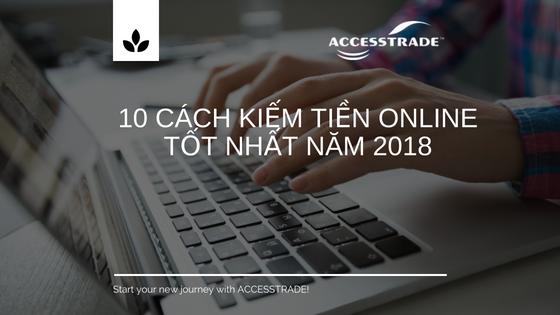 kiếm tiền online là gì? 10 cách kiếm tiền online 2018