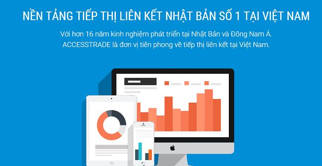 - ACCESSTRADE - Nền tảng tiếp thị liên kết hàng đầu Việt Nam