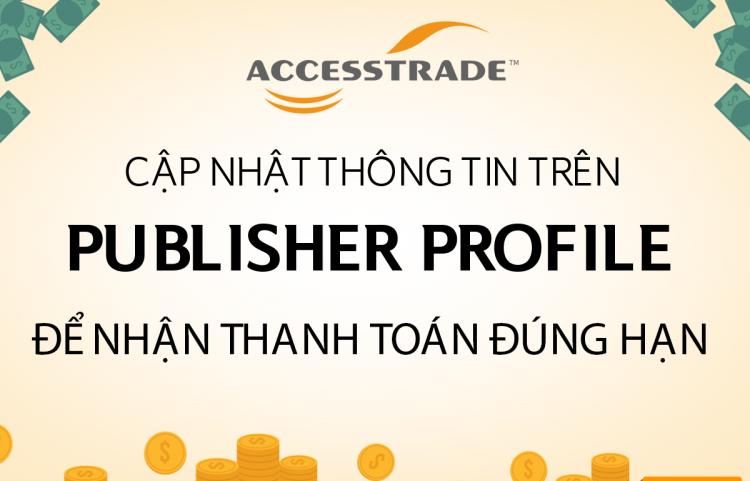 Cập nhật thông tin Publisher Profile