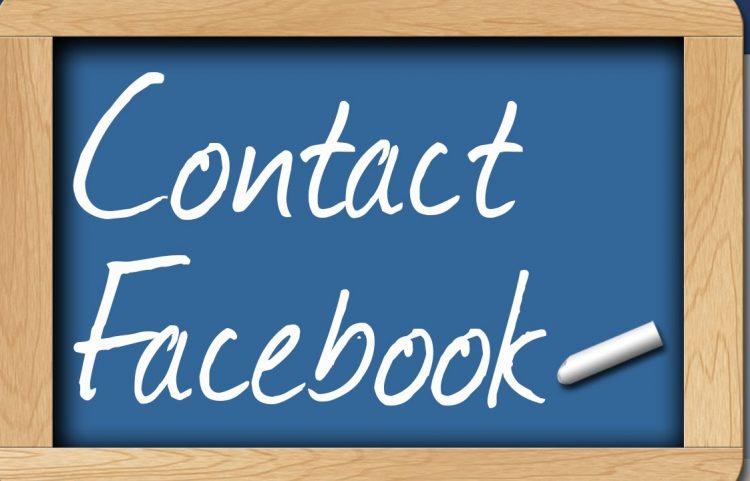 tổng hợp cách liên hệ facebook