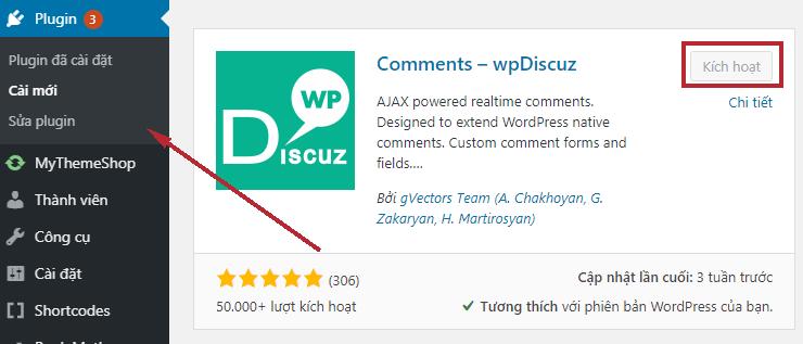 plugin wpdiscuz