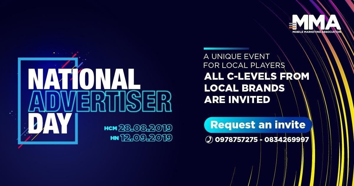 sự kiện National Advertiser Day 2019 dành riêng cho nhãn hàng nội địa Việt Nam
