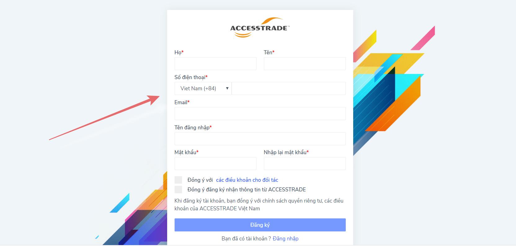 Hướng dẫn tạo link Accesstrade chi tiết từ A-Z mới nhất 2020 2